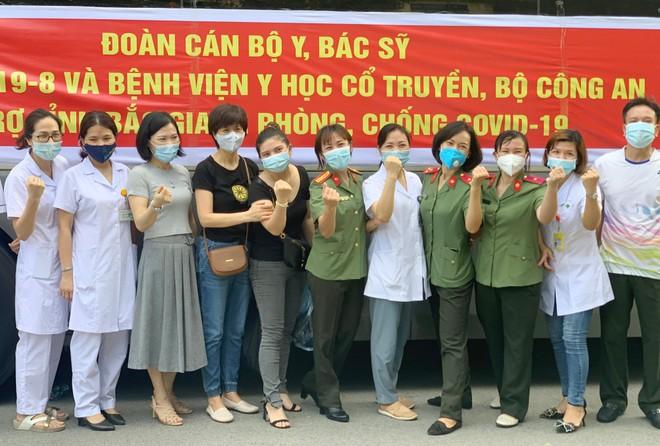 Thêm 166 y, bác sĩ Công an nhân dân chi viện Bắc Giang, điều hành Bệnh viện dã chiến số 2 ảnh 3