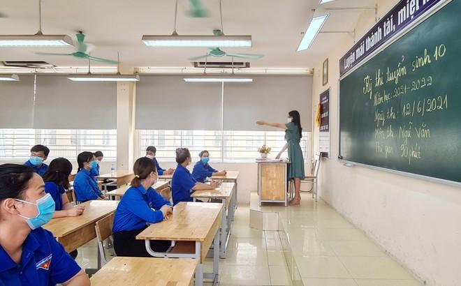 Xử trí tình huống học sinh biểu hiện ho sốt trong ngày thi Trung học phổ thông ảnh 2