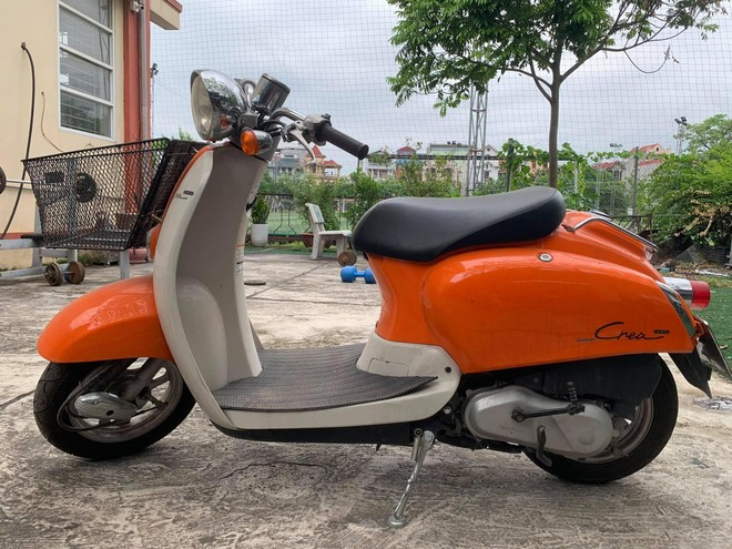 Tìm chủ sở hữu xe máy Crea màu cam ảnh 1