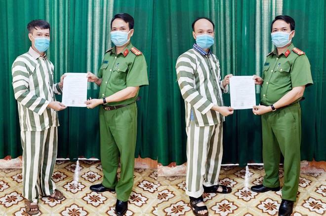 Công bố quyết định đặc xá đối với 4 phạm nhân thi hành án tại nhà tạm giữ ảnh 2