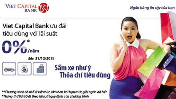 Viet Capital Bank dành ưu đãi cho khách hàng vay tiêu dùng ảnh 1