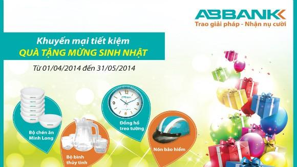 Gửi tiết kiệm nhận quà hấp dẫn từ ABBank ảnh 1