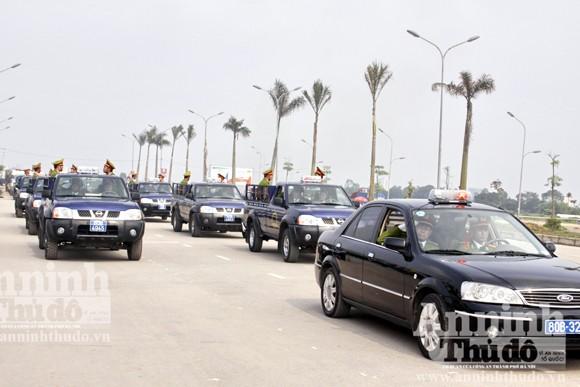 Diễn tập: Cảnh sát bảo vệ quật ngã nhóm đối tượng gây rối ảnh 6