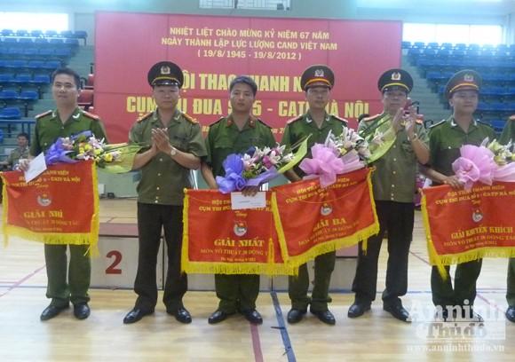 Cụm thi đua số 5 – CATP Hà Nội: Sôi nổi Hội thao thanh niên năm 2012 ảnh 7