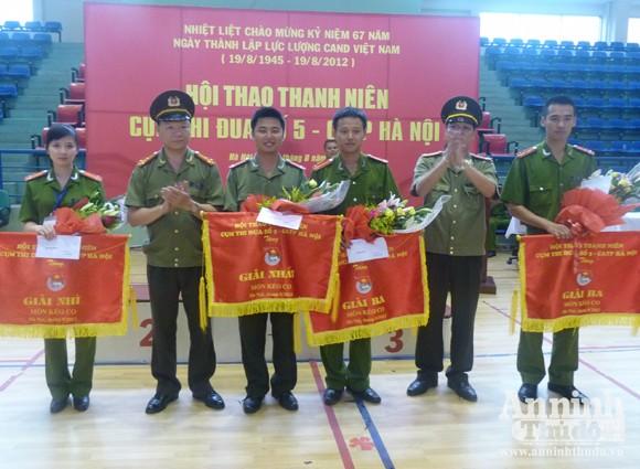 Cụm thi đua số 5 – CATP Hà Nội: Sôi nổi Hội thao thanh niên năm 2012 ảnh 6