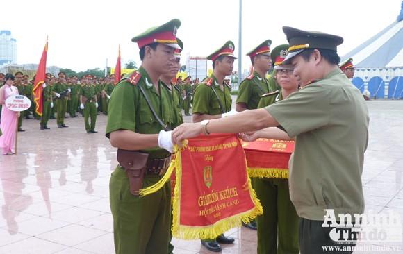 Sở Cảnh sát PCCC Hà Nội: Sôi nổi Hội thi điều lệnh CAND năm 2012