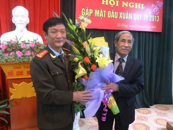 CLB Công an hưu trí CATP khu vực Hà Đông gặp mặt đầu xuân ảnh 4