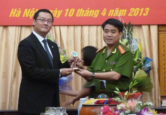 CATP Hà Nội tiếp nhận tài trợ 35 xe mô tô Honda 250cm3 ảnh 4