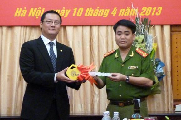 CATP Hà Nội tiếp nhận tài trợ 35 xe mô tô Honda 250cm3 ảnh 3
