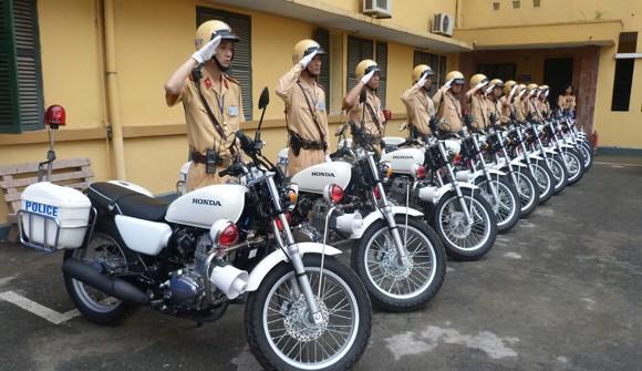 CATP Hà Nội tiếp nhận tài trợ 35 xe mô tô Honda 250cm3 ảnh 6