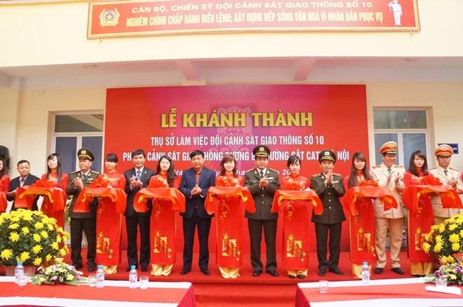 Khánh thành trụ sở Đội CSGT số 10 tại Ba La ảnh 1
