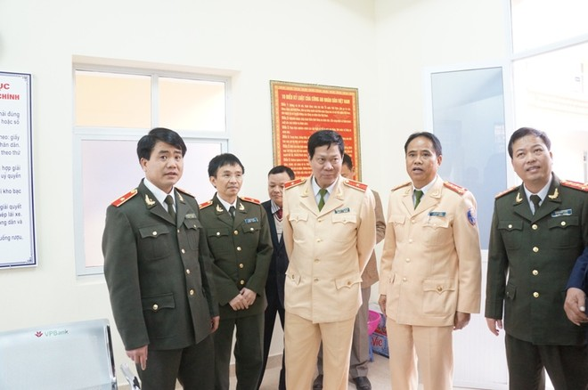 Khánh thành trụ sở Đội CSGT số 10 tại Ba La ảnh 2