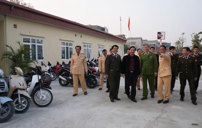 CATP Hà Nội khánh thành trụ sở Đội CSGT số 4 ảnh 1