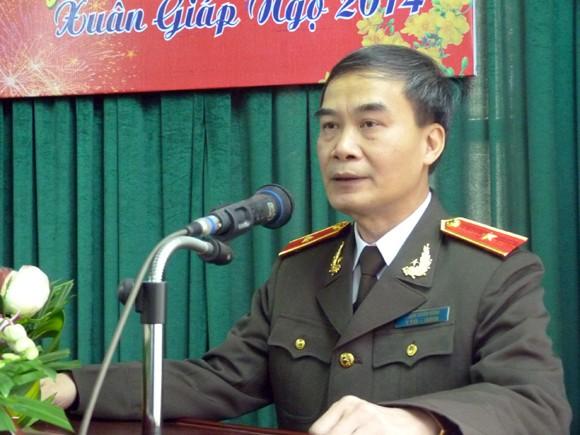 Lãnh đạo CATP Hà Nội chúc tết các đơn vị ảnh 3