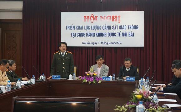 CATP Hà Nội triển khai lực lượng đảm bảo ANTT tại Cảng hàng không quốc tế Nội Bài ảnh 2