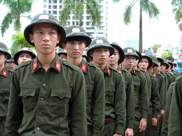 513 công dân được tuyển chọn phục vụ có thời hạn trong CAND ảnh 4