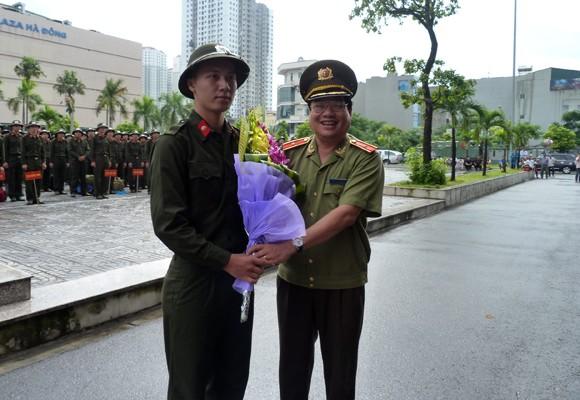 513 công dân được tuyển chọn phục vụ có thời hạn trong CAND