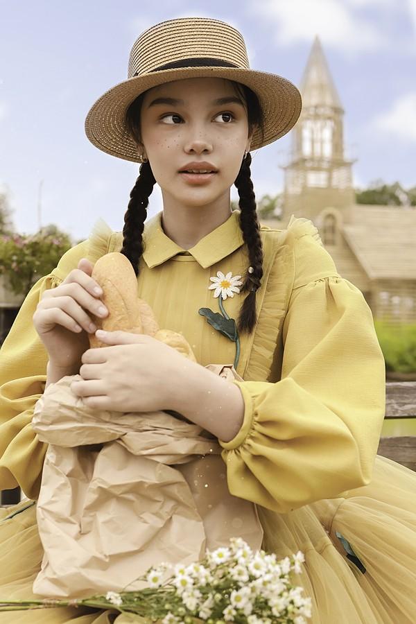 """Những điều ít biết về người mẫu gốc Việt 12 tuổi đăng quang Á hậu 1 """"Hoa hậu Nhí thế giới"""". ảnh 4"""