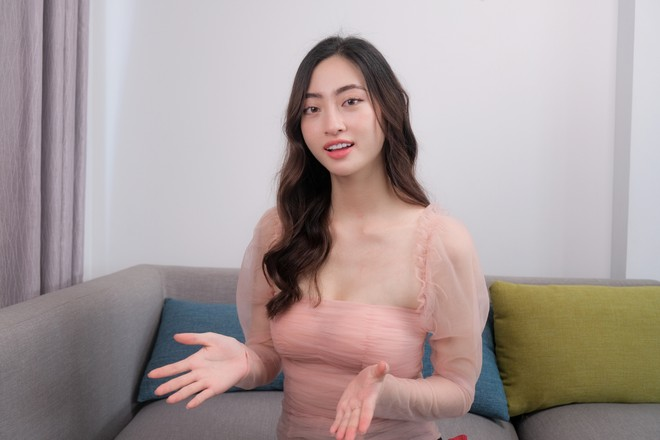 """Hoa hậu Lương Thùy Linh lập kênh Vlog riêng, khẳng định thu nhập có được là """"tiền sạch"""" ảnh 1"""