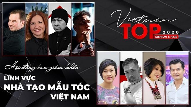 """Những gương mặt chấm thi """"Nhà tạo mẫu tóc Việt Nam 2020"""" ảnh 1"""