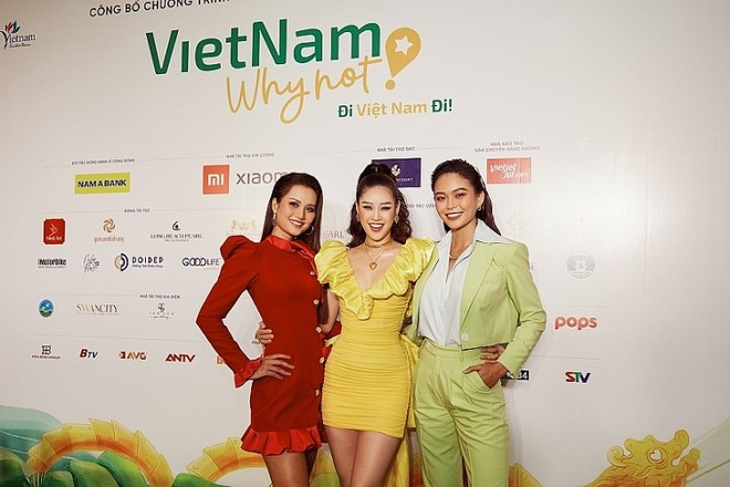 Dàn Hoa hậu, Á hậu tham gia chương trình truyền hình thực tế kích cầu du lịch Việt Nam ảnh 2