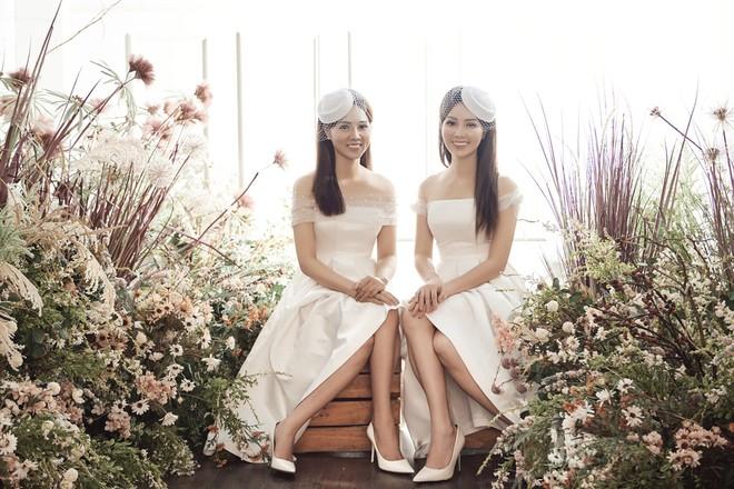 10 năm sau khi kết hôn, Á hậu Thụy Vân lại mặc váy cô dâu ảnh 15