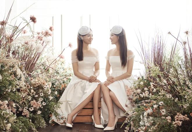10 năm sau khi kết hôn, Á hậu Thụy Vân lại mặc váy cô dâu ảnh 14