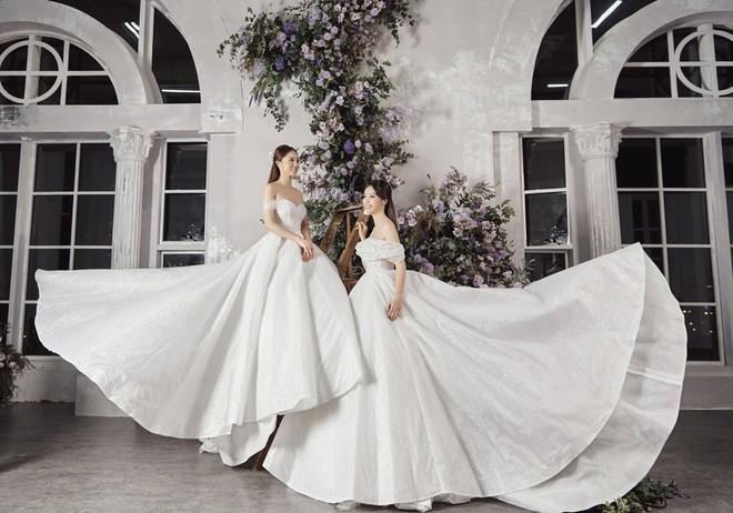 10 năm sau khi kết hôn, Á hậu Thụy Vân lại mặc váy cô dâu ảnh 13
