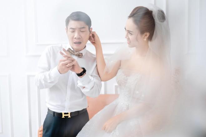 NSND Công Lý khoe khoảnh khắc hạnh phúc bên vợ sắp cưới ảnh 5