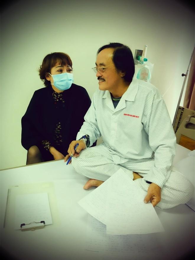 """Nghệ sĩ """"Giang Còi"""" nhập viện vì phát hiện khối u vòm họng ảnh 1"""
