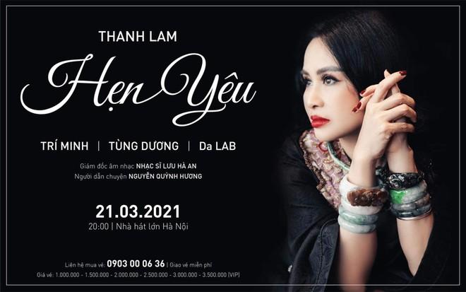 """""""Diva"""" Thanh Lam hoãn liveshow vì dịch Covid-19 ảnh 1"""