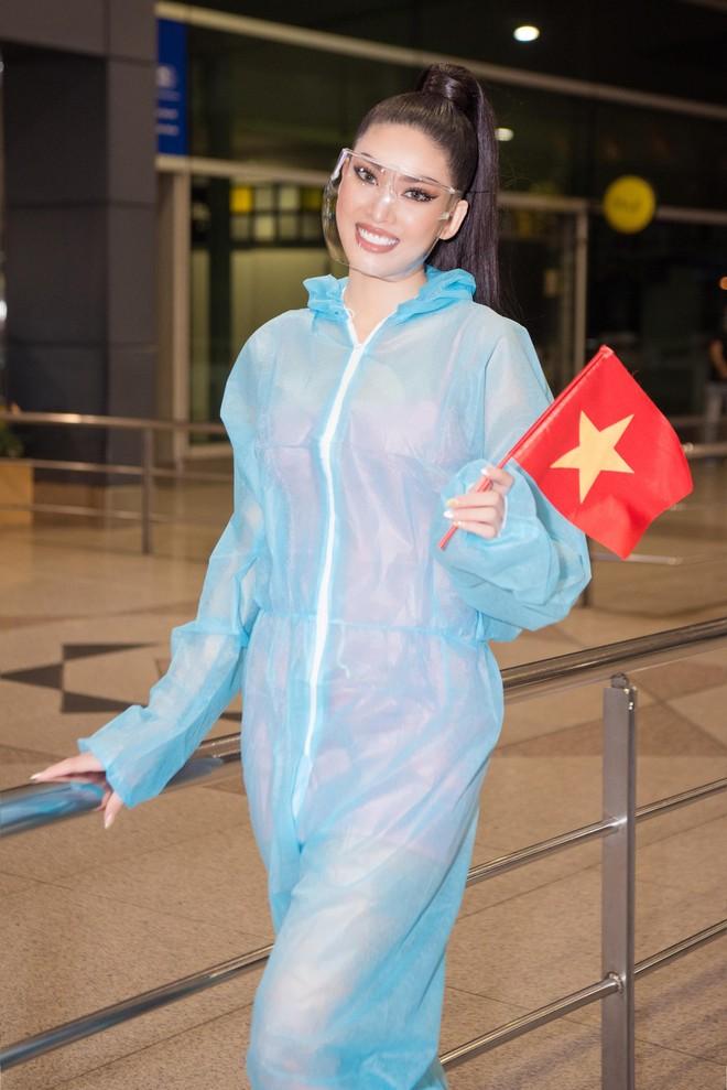 Á hậu Ngọc Thảo mang gần 150kg hành lý dự thi quốctế ảnh 2