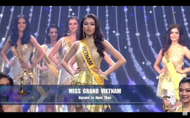 """Đại diện Việt Nam dừng chân ở Top 20 """"Miss Grand International 2021"""" ảnh 1"""