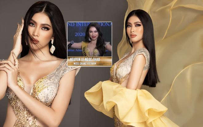 """Ngọc Thảo xin lỗi vì không giành giải tại """"Miss Grand International 2021"""" ảnh 1"""