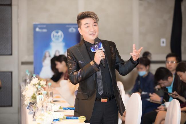 """Đàm Vĩnh Hưng ngồi """"ghế nóng"""" Miss World Vietnam 2021 ảnh 4"""