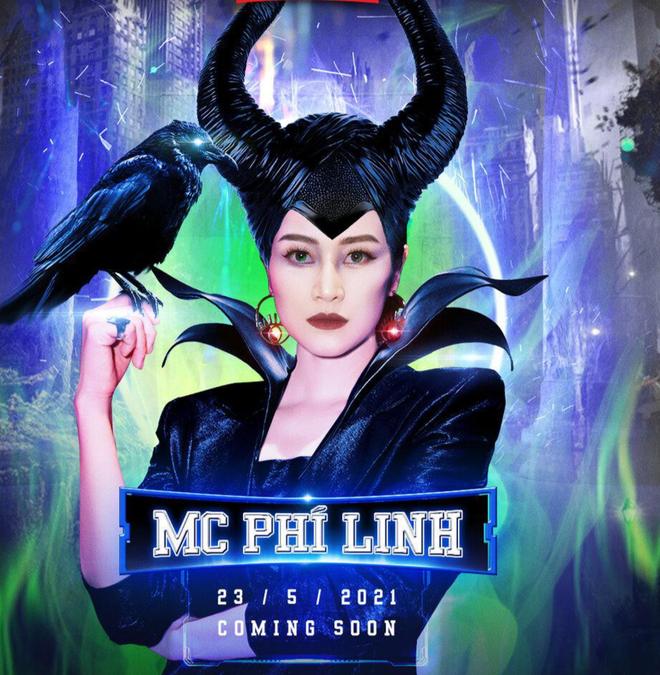 """MC Phí Linh hóa thân thành """"Tiên hắc ám"""" dẫn dắt cuộc thi """"The Heroes"""" ảnh 1"""