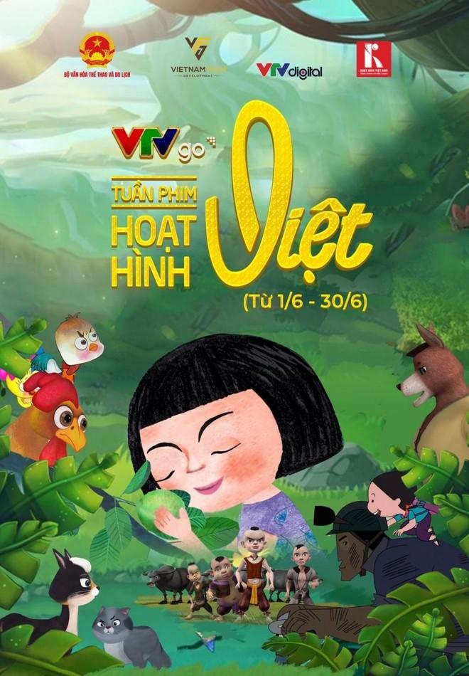 """50 phim hoạt hình """"made in Việt Nam"""" phục vụ khán giả màn ảnh nhỏ ảnh 1"""