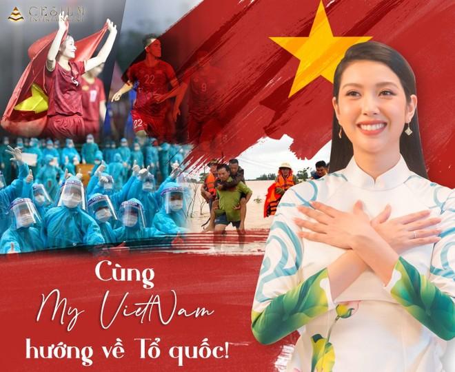 Á hậu Thúy Vân sáng tác ca khúc về Việt Nam phiên bản song ngữ ảnh 1