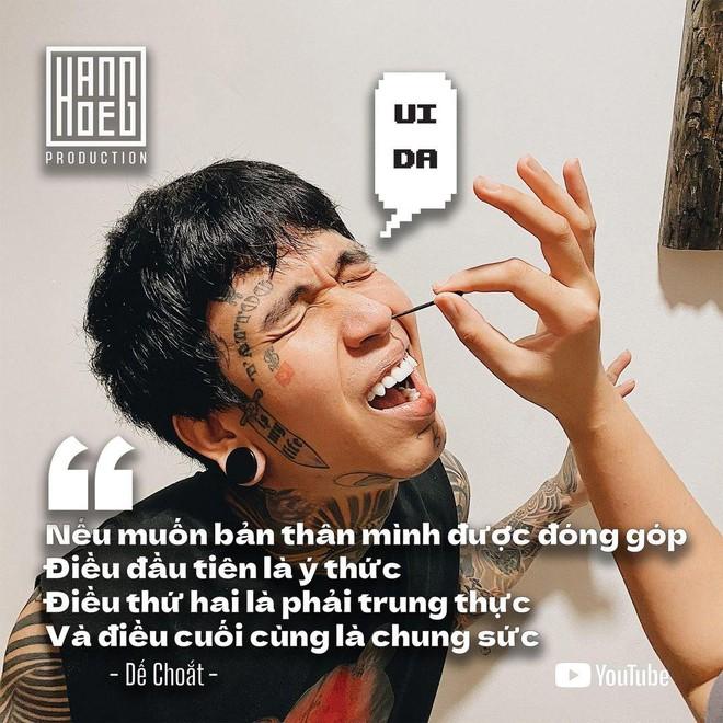 """Rapper Dế Choắt ở nhà tự làm MV """"Cô Vi đi xa"""" ảnh 1"""