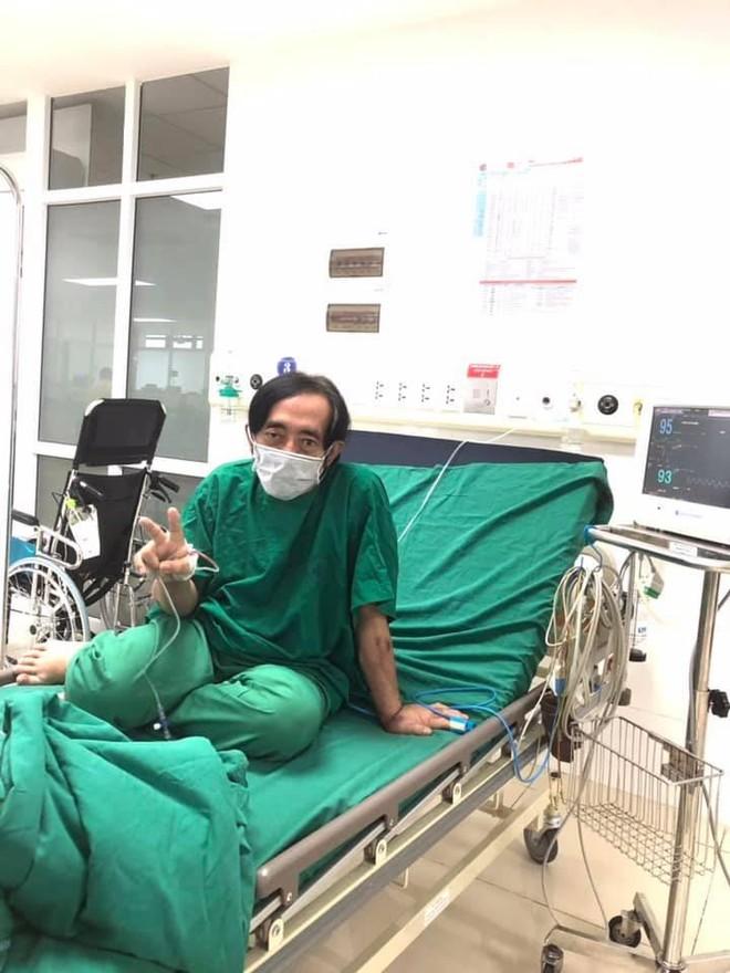Nghệ sĩ Giang Còi lên tiếng về tin đồn đang điều trị tại nơi bị phong tỏa vì Covid-19 ảnh 1