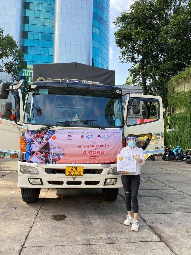 """Hoa hậu Ngọc Diễm đồng hành cùng dự án """"10 tấn thực phẩm 0 đồng"""" ảnh 3"""