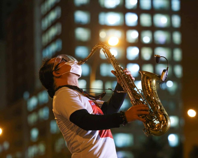 Thông tin mới về sức khỏe của nghệ sĩ saxophone Trần Mạnh Tuấn ảnh 2