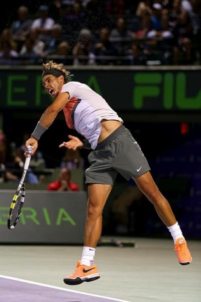 """Rafael Nadal hài lòng với """"vũ khí chiến lược"""", tiến vào tứ kết Miami 2014 ảnh 1"""