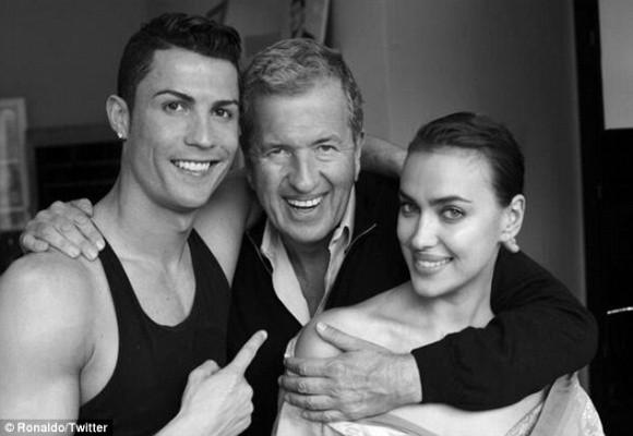 Ronaldo cùng bồ siêu mẫu đầu quân cho Vogue ảnh 1