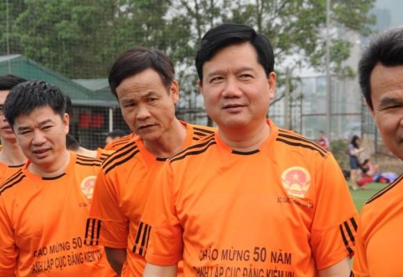 Bộ trưởng Đinh La Thăng sát cánh cùng các cựu danh thủ giành cúp vô địch ảnh 5