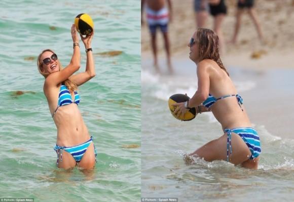 Ngắm nữ hoàng quần vợt khoe đường cong quyến rũ bên sóng biển ảnh 5