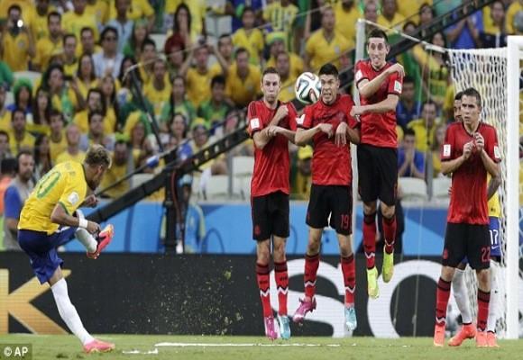 Brazil vs Mexico – Đôi công và chia điểm ảnh 2