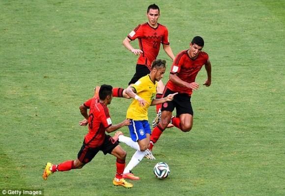 Brazil vs Mexico – Đôi công và chia điểm ảnh 3