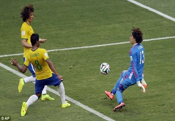 Brazil vs Mexico – Đôi công và chia điểm ảnh 4