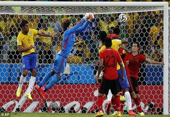 Brazil vs Mexico – Đôi công và chia điểm ảnh 5
